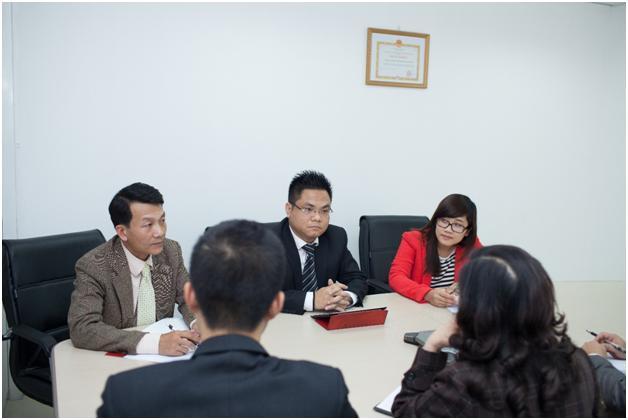 Luật sư S&B Law đang thảo luận về vấn đề tư vấn thương mại quốc tế