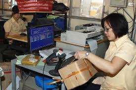 cấm người cư trú gửi ngoại hối trong bưu gửi