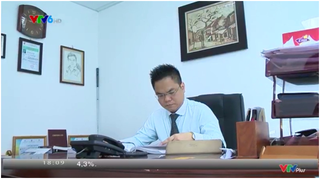 Luật sư Nguyễn Thanh Hà trong buổi trả lời phỏng vấn