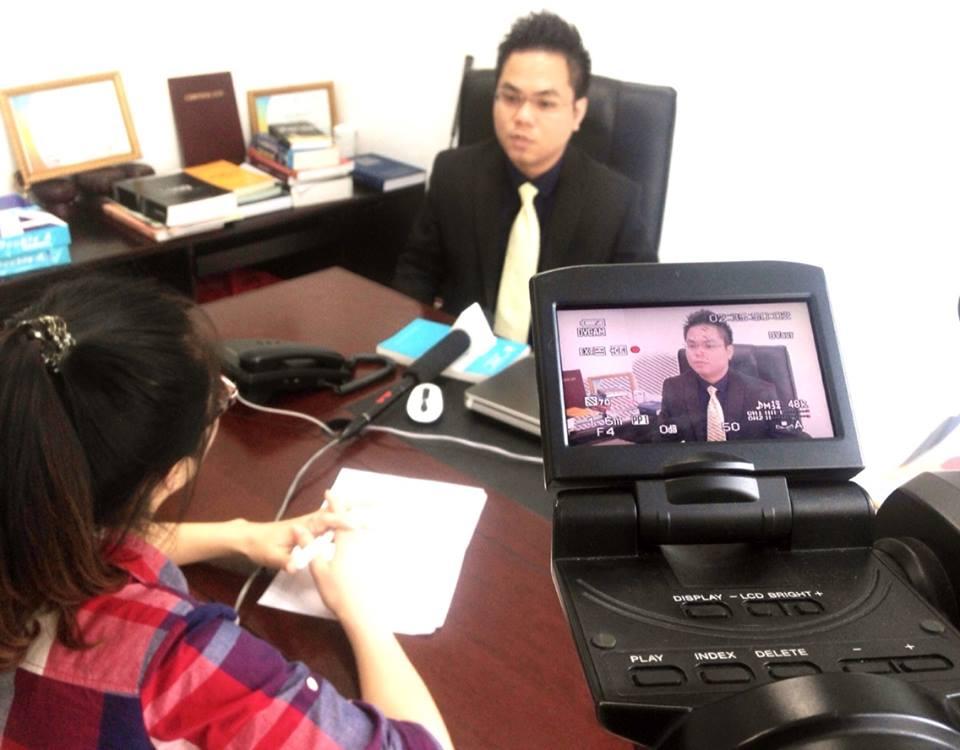 Luật sư Nguyễn Thanh Hà trả lời phỏng vấn kênh tài chính VITV