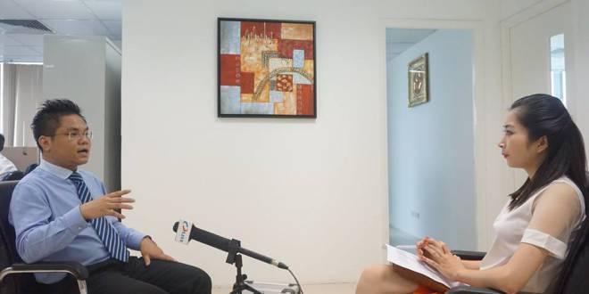 Luật sư Nguyễn Thanh Hà trong buổi phỏng vấn