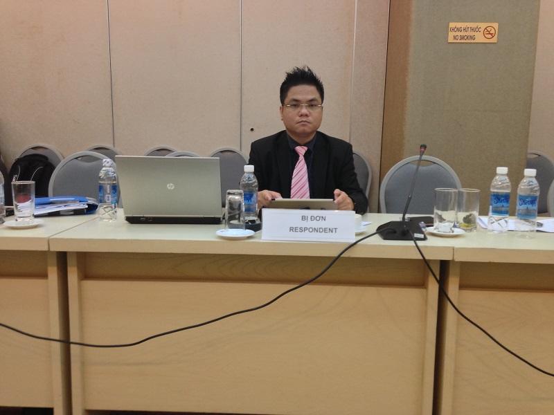 Luật sư Nguyễn Thanh Hà tại trọng tài thương mại