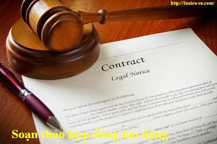 Soạn thảo hợp đồng lao động