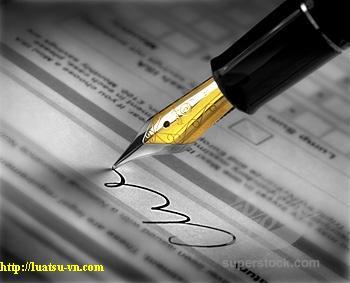 soạn thảo các hợp đồng