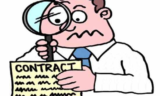 Cách tính giá trên hợp đồng