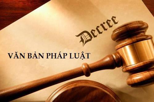 văn bản pháp luật mới