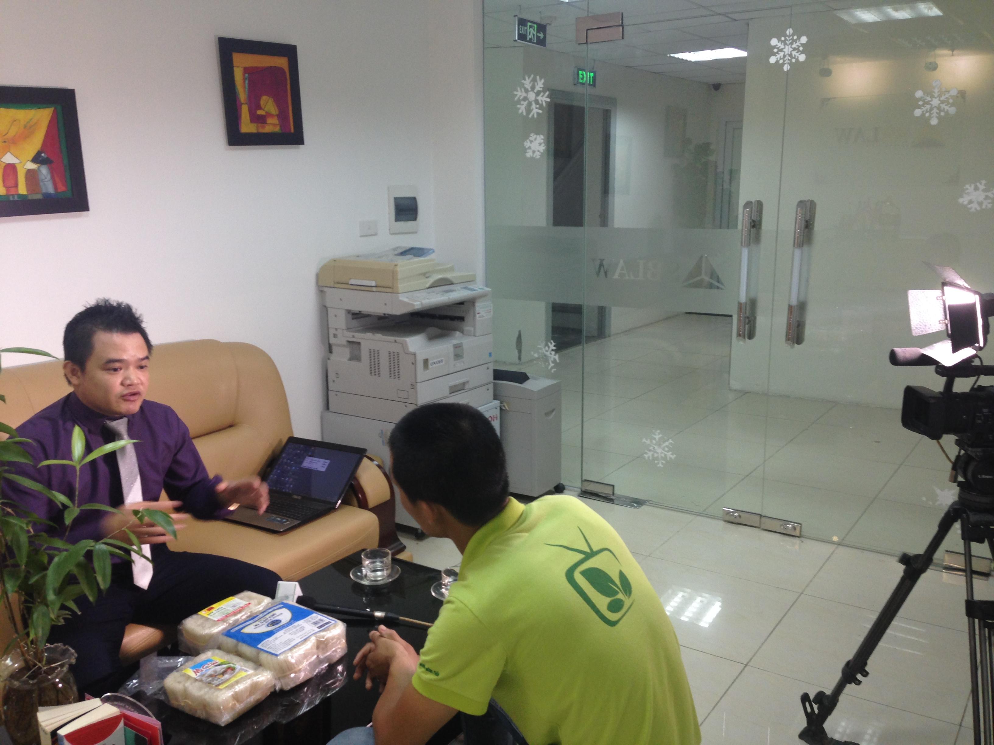 Luật sư Phạm Duy Khương trao đổi cùng phóng viên VTC