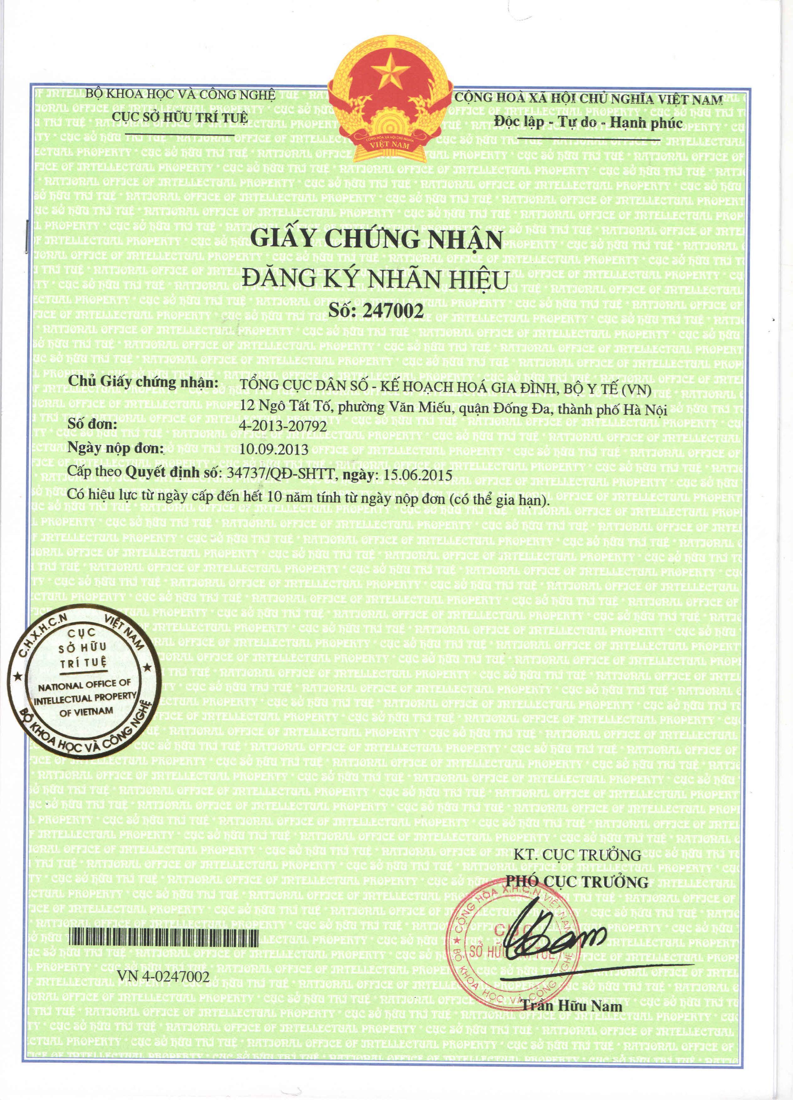 IDEAL_Giay chung nhan dang ky nhan hieu 247002_08072015-page-001