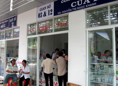 Cấp các giấy phép liên quan đến hoạt động bán buôn dược phẩm
