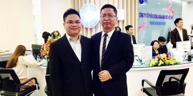 Luật sư Nguyễn Thanh Hà cùng đại diện VNCS