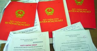 Thủ tục sang tên sổ đỏ khi chuyển nhượng đất bằng giấy tờ viết tay - internet