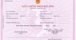 Có thể xin cấp lại giấy đăng ký kết hôn bị mất không-sblaw