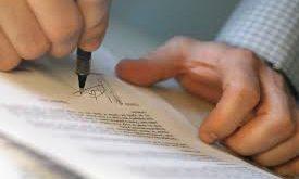 Giao dịch bằng giấy tờ viết tay có hiệu lực không