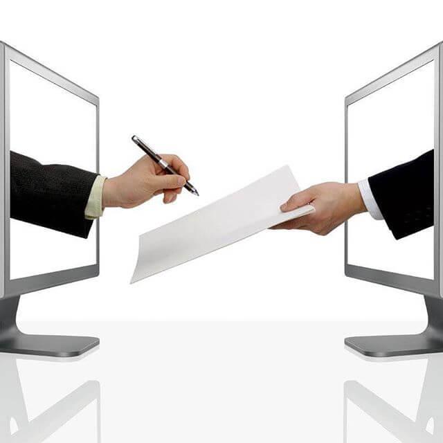 hợp đồng điện tử