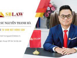 Luật sư tư vấn bất động sản